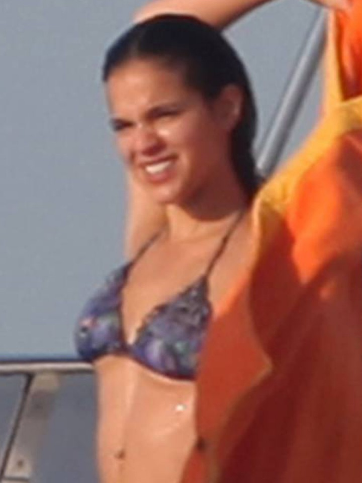 Bruna Marquezine Bikini Candids on a Yacht in Ibiza