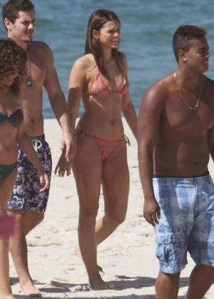 Bruna Marquezine Bikini Photos: 2014 in Rio de Janeiro -10