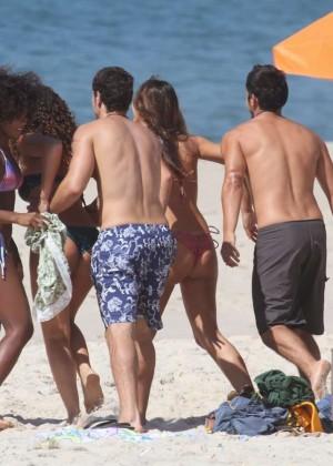 Bruna Marquezine Bikini Photos: 2014 in Rio de Janeiro -24