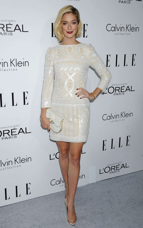 Caitlin FitzGerald 2013 ELLEs Women In Hollywood GotCeleb