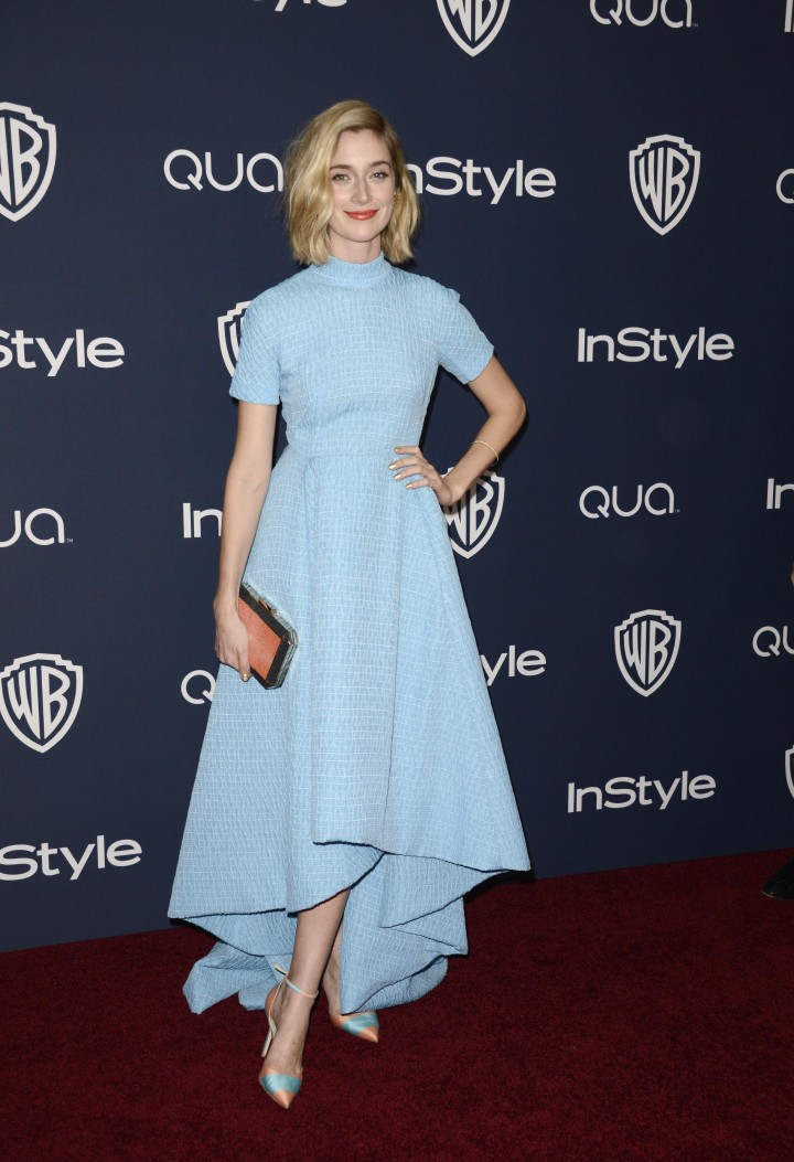 Caitlin Fitzgerald – InStyle & Warner Bros Golden Globes after party