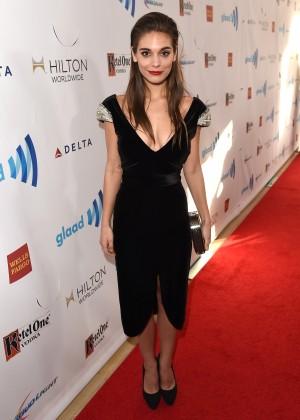 Caitlin Stasey: 2014 GLAAD Media Awards -06