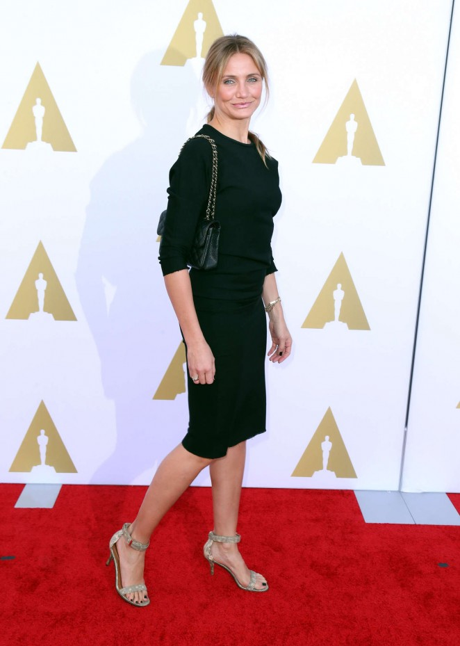 Cameron Diaz – 2014 AMPAS Hollywood Costume Luncheon -07