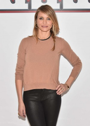 "Cameron Diaz - ""Annie"" Photocall in NYC"