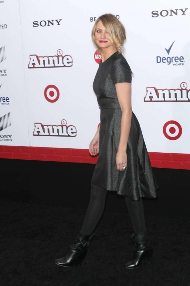 Cameron Diaz: Annie NY Premiere -15
