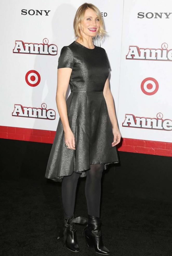 Cameron Diaz: Annie NY Premiere -19