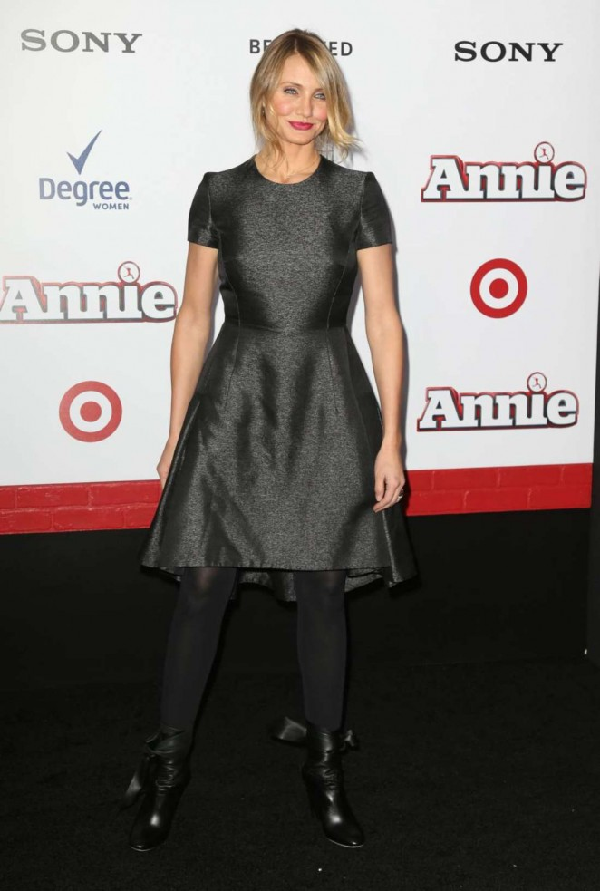 Cameron Diaz: Annie NY Premiere -23