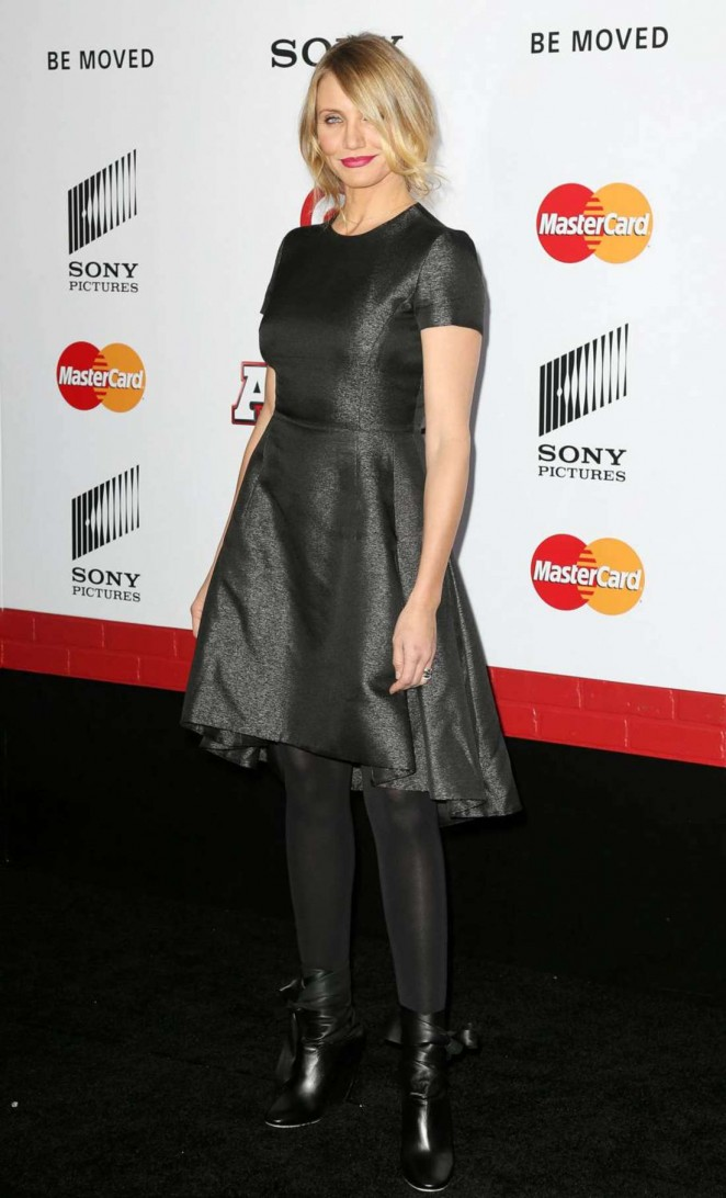 Cameron Diaz 2014 : Cameron Diaz: Annie NY Premiere -31