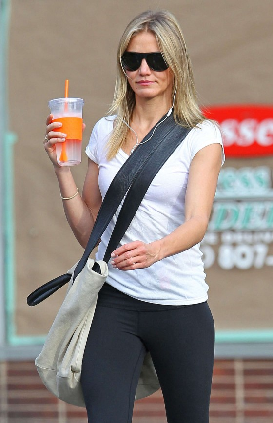 Spandex Candids out in New York-04