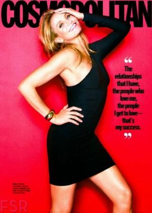 Cameron Diaz - Cosmopolitan USA Magazine Cover (January 2015)
