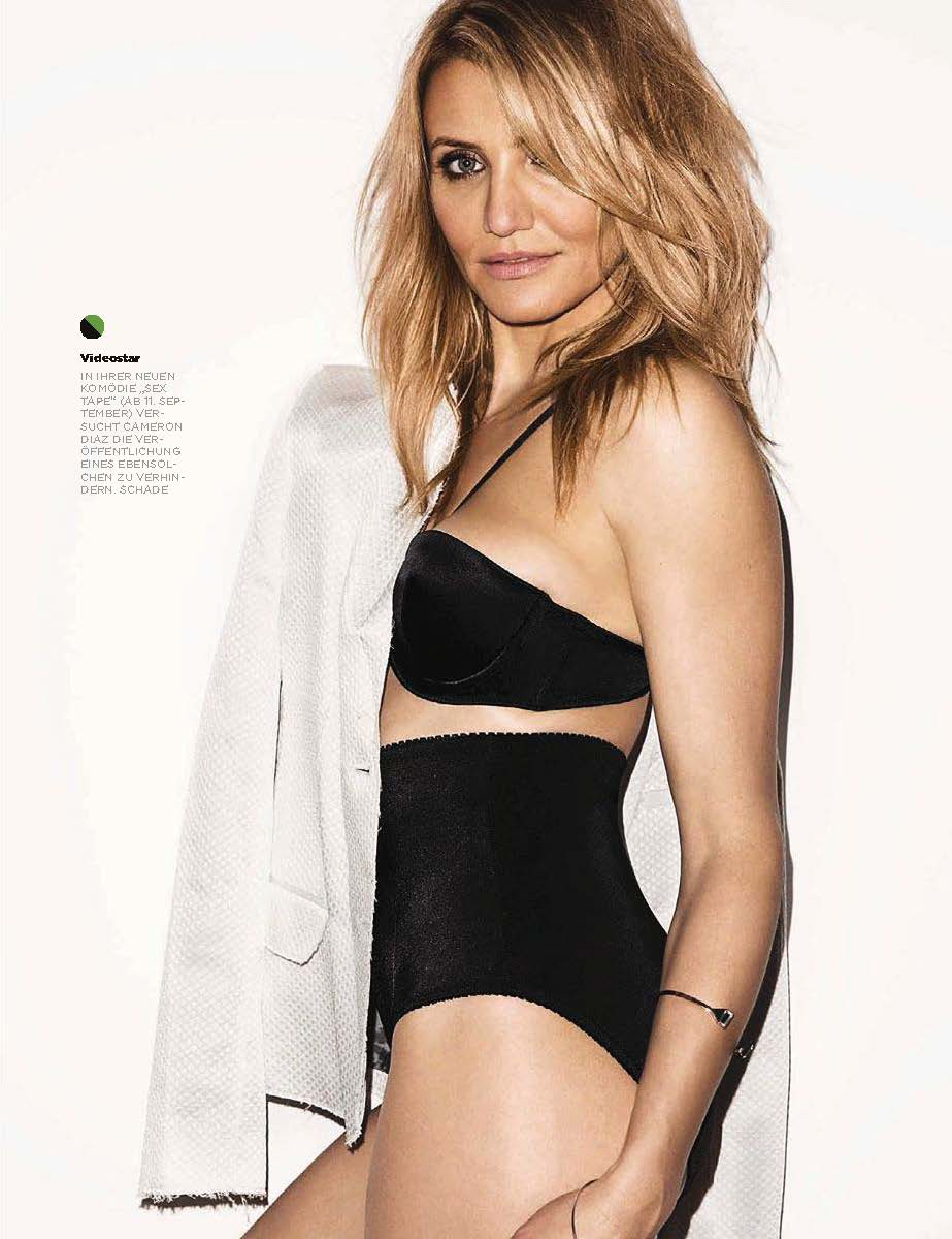 Cameron Diaz - GQ Germany Magazine (October 2014)