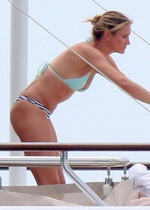 Cameron Diaz bikini photos: in Antibes -15