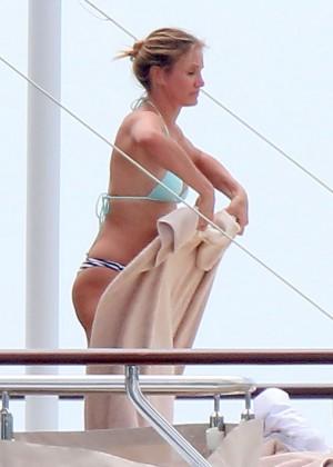 Cameron Diaz bikini photos: in Antibes -21
