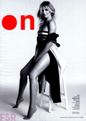 Cameron Diaz - Marie Claire USA Magazine (November 2014)