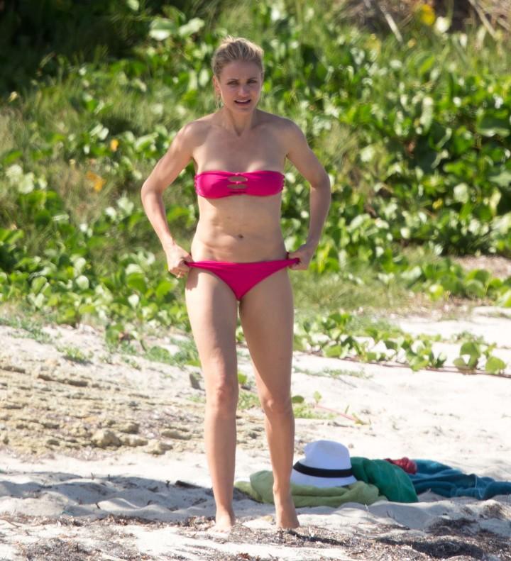 Cameron Diaz Bikini Photos: 2014 in Caribbean -22 – GotCeleb Cameron Diaz Pregnant August 2018