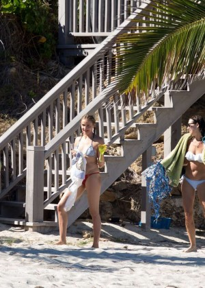 Cameron Diaz Bikini Photos: 2014 in Caribbean -46