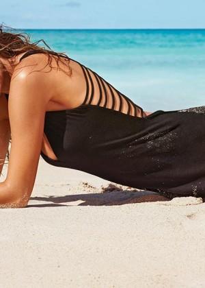 Cameron Russell: Calzedonia Bikini 2014 -04