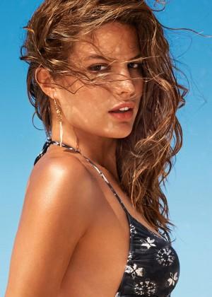 Cameron Russell: Calzedonia Bikini 2014 -05