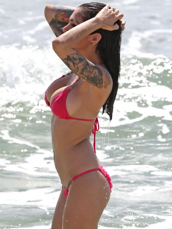 Cami Li – Bikini in Miami-13