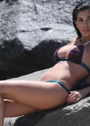 Cami Li in Bikini Photoshoot in Miami -02