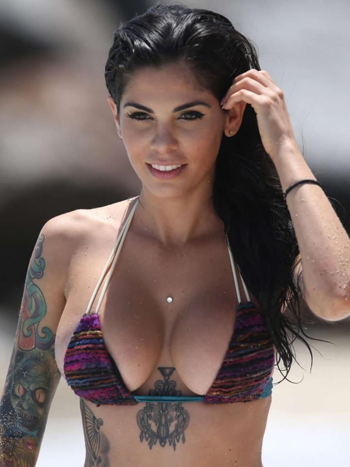 Cami Li in Bikini Photoshoot in Miami -07