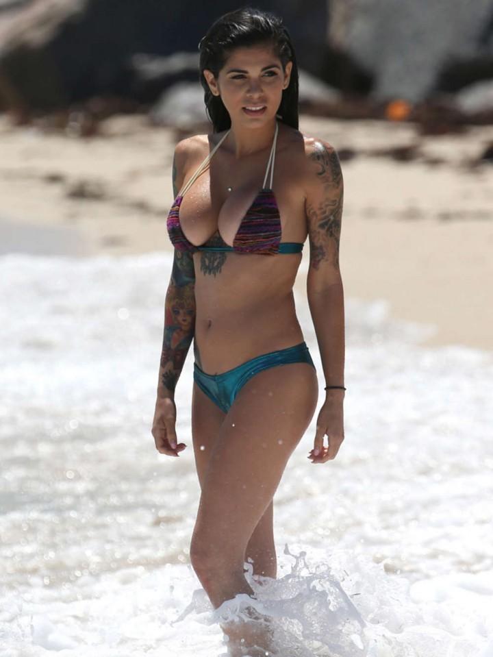 Cami Li in Bikini Photoshoot in Miami -09