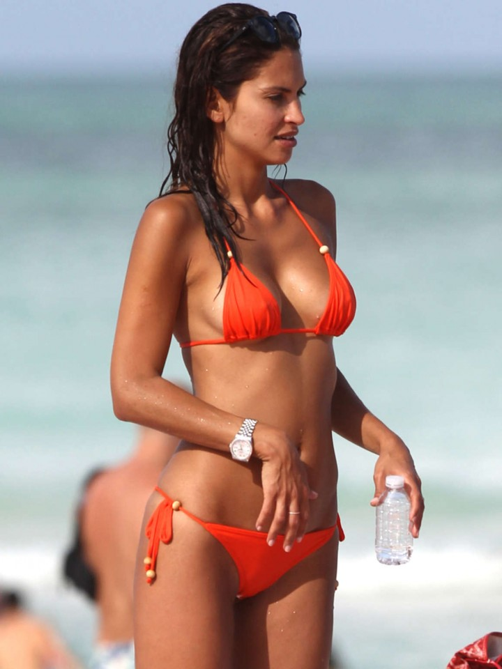 Camila Morais da Paz Bikini: 2014 Miami -01