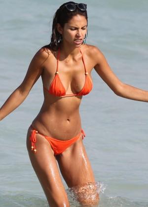 Camila Morais da Paz Bikini: 2014 Miami -05