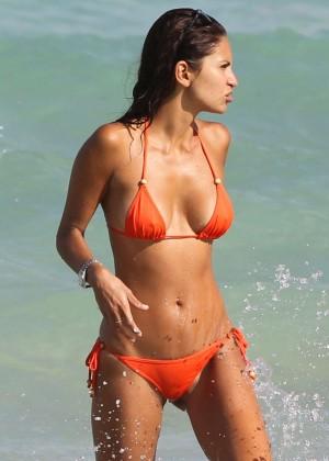 Camila Morais da Paz Bikini: 2014 Miami -07