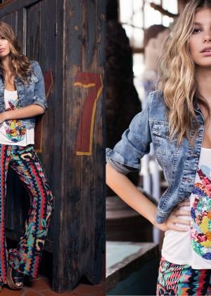 Camila Morrone: Primavera-Verano Clothing 2015 -01
