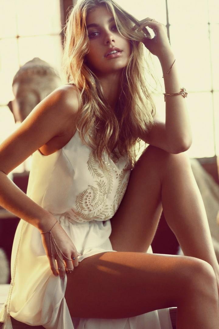 Camila Morrone - Primavera-Verano Clothing Brand 2015