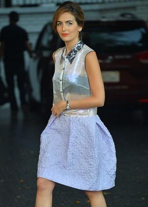 Camilla Belle - CFDA/Vogue Fashion Fund Event in LA