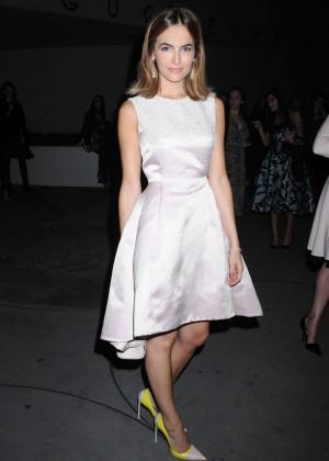 Camilla Belle Seen Leaving 2014 Guggenheim International Gala Pre-Party