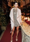 Camilla Belle - In Short Silver Dress -08