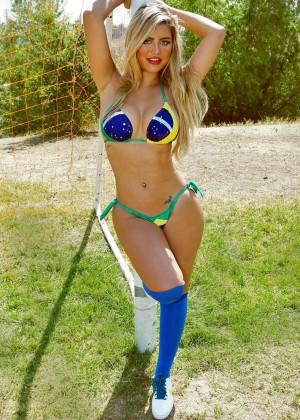 Camilla Gimenez - Bikini World Cup 2014 Brazil Photoshoot -01
