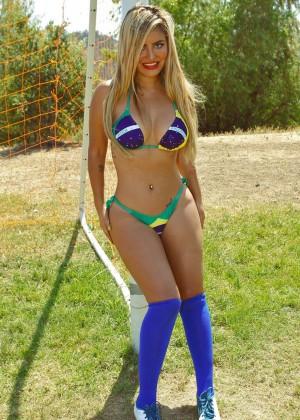 Camilla Gimenez - Bikini World Cup 2014 Brazil Photoshoot -04