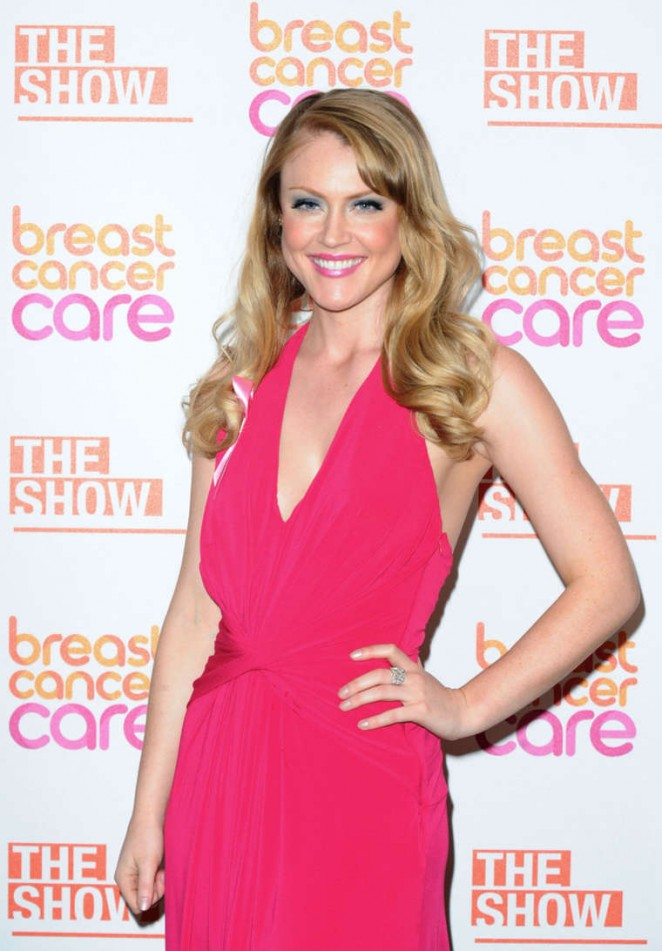 Camilla Kerslake - Breast Cancer Care London Fashion Show 2014