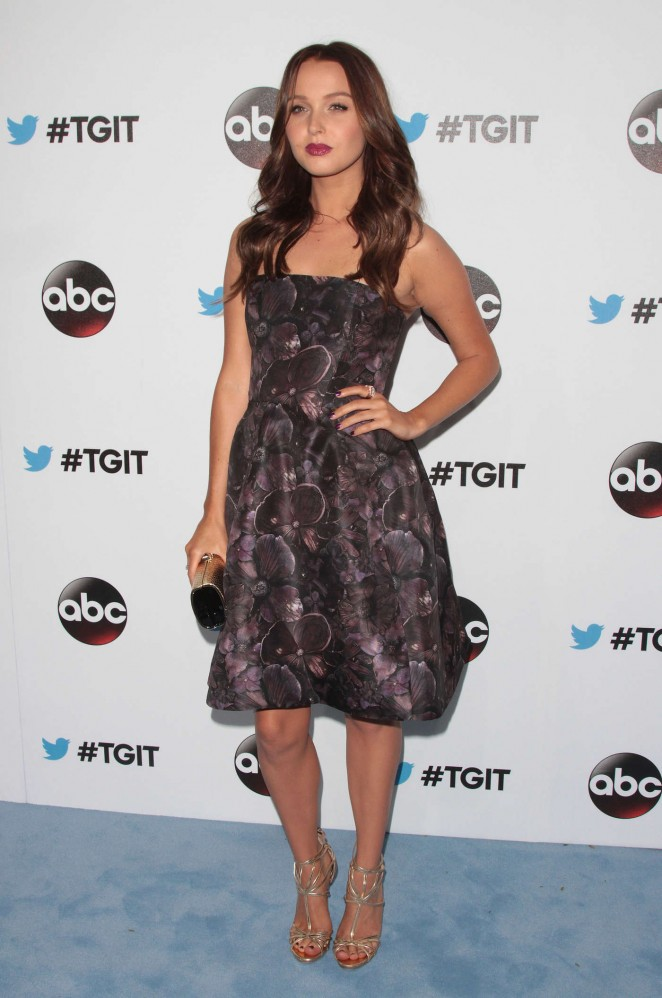Camilla Luddington - #TGIT Premiere Event in West Hollywood