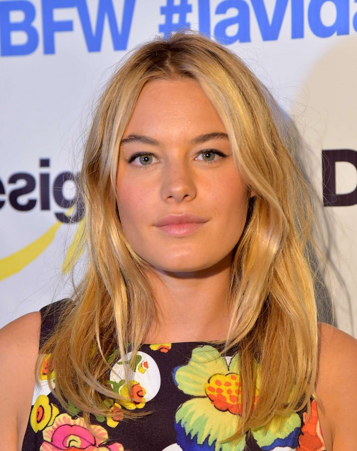 Camille Rowe - Desigual Fashion Show in NYC