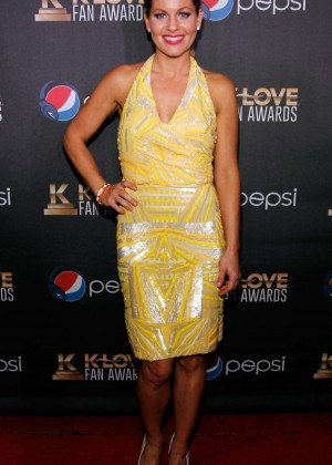 Candace Cameron in Yellow Dress-08