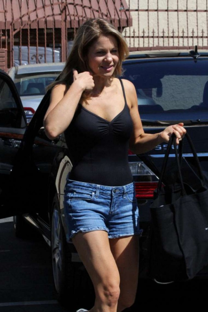 Candace Cameron Bure ariving at Dancing With The Stars Practice   GotCeleb