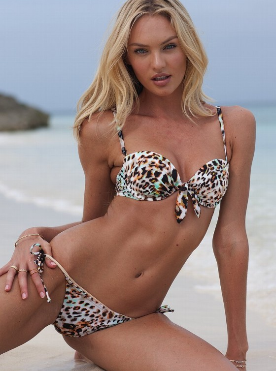 Candice Swanepoel - Hot In new Victoria's Secret Bikini and Swimsuit Photoshoot