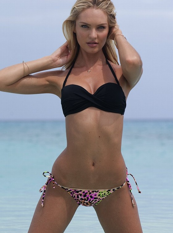 Candice Swanepoel – New Victorias Secret Bikini-14