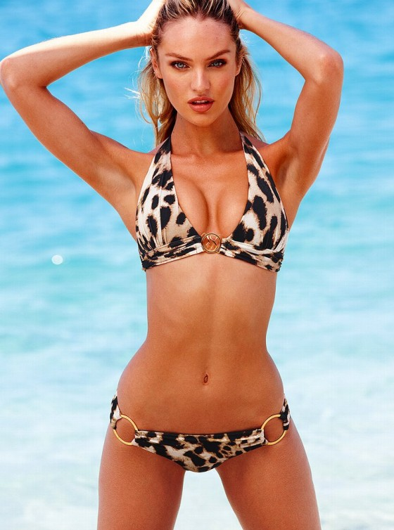 Candice Swanepoel – New Victorias Secret Bikini-28
