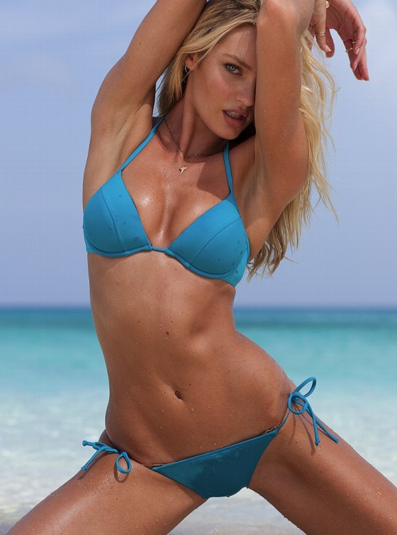 Candice Swanepoel – New Victorias Secret Bikini-31