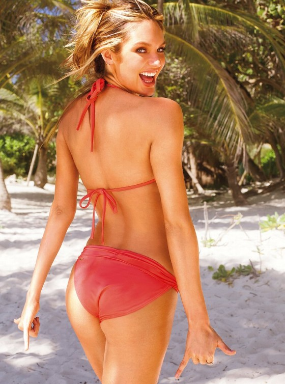 Candice Swanepoel – 2013 VS Swimwear Photoshoot -06
