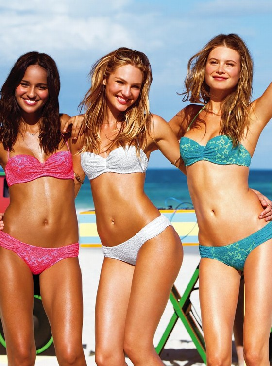 Candice Swanepoel – 2013 VS Swimwear Photoshoot -15