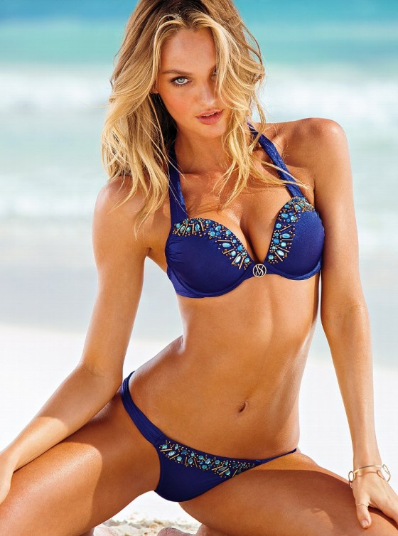 Candice Swanepoel - 2013 VS Swimwear Photoshoot -16
