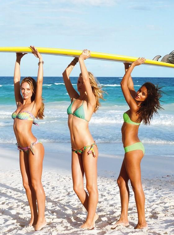 Candice Swanepoel – 2013 VS Swimwear Photoshoot -19