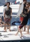 Candice Swanepoel in white bikini 2013 VS photoshoot-18
